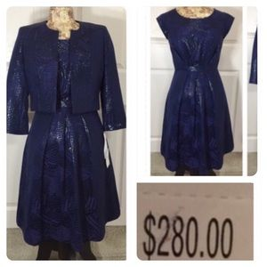 NWT! Nipon Boutique dress and jacket